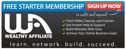 My Honest Wealthy Affiliate Review Free membership
