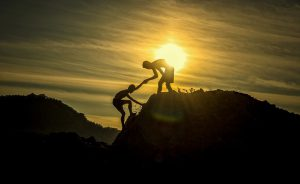 Help others climb the mountain of success