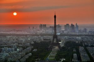 Online business and email allow you to make money from anywhere such as this picture of Paris
