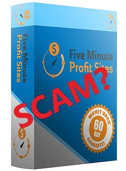 Is five minute profit sites a scam?