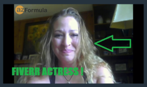 Picture of paid fiverr actor in the AZ Code sales video