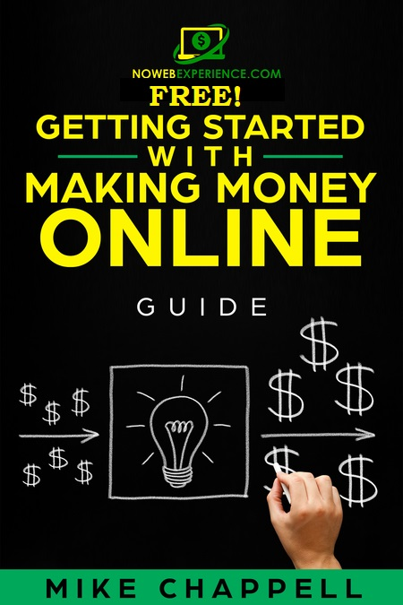 This is an image of a free ebook on how to get started and become an online entrepreneur