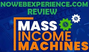 This image is The Mass Income Machines Review logo